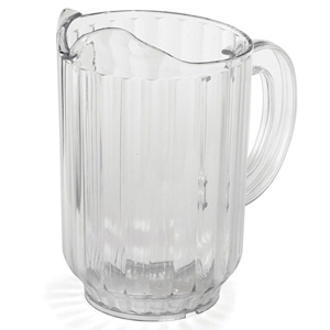 SAN Plastic Pitcher Jug 35oz / 1ltr