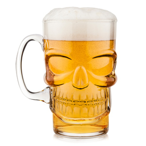 Final Touch Skull Beer Mug 23.7oz / 700ml