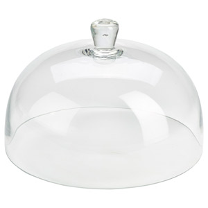 Glass Cake Dome 30cm