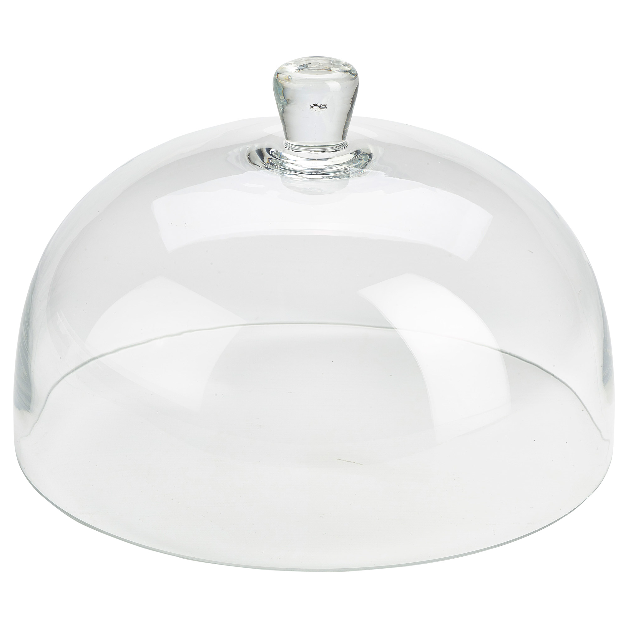 glass cake stand with dome genware 12 inch 30cm glass cake dome at drinkstuff 4509