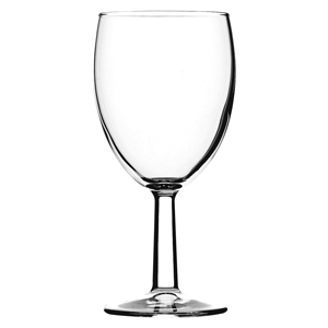 Saxon Toughened Wine Glasses 7oz LCE at 125ml