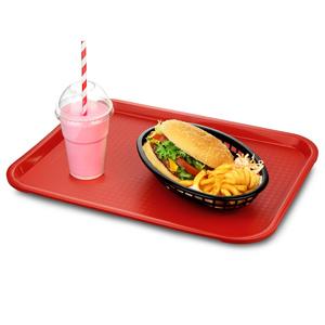 Fast Food Tray Medium Red 12 x 16inch
