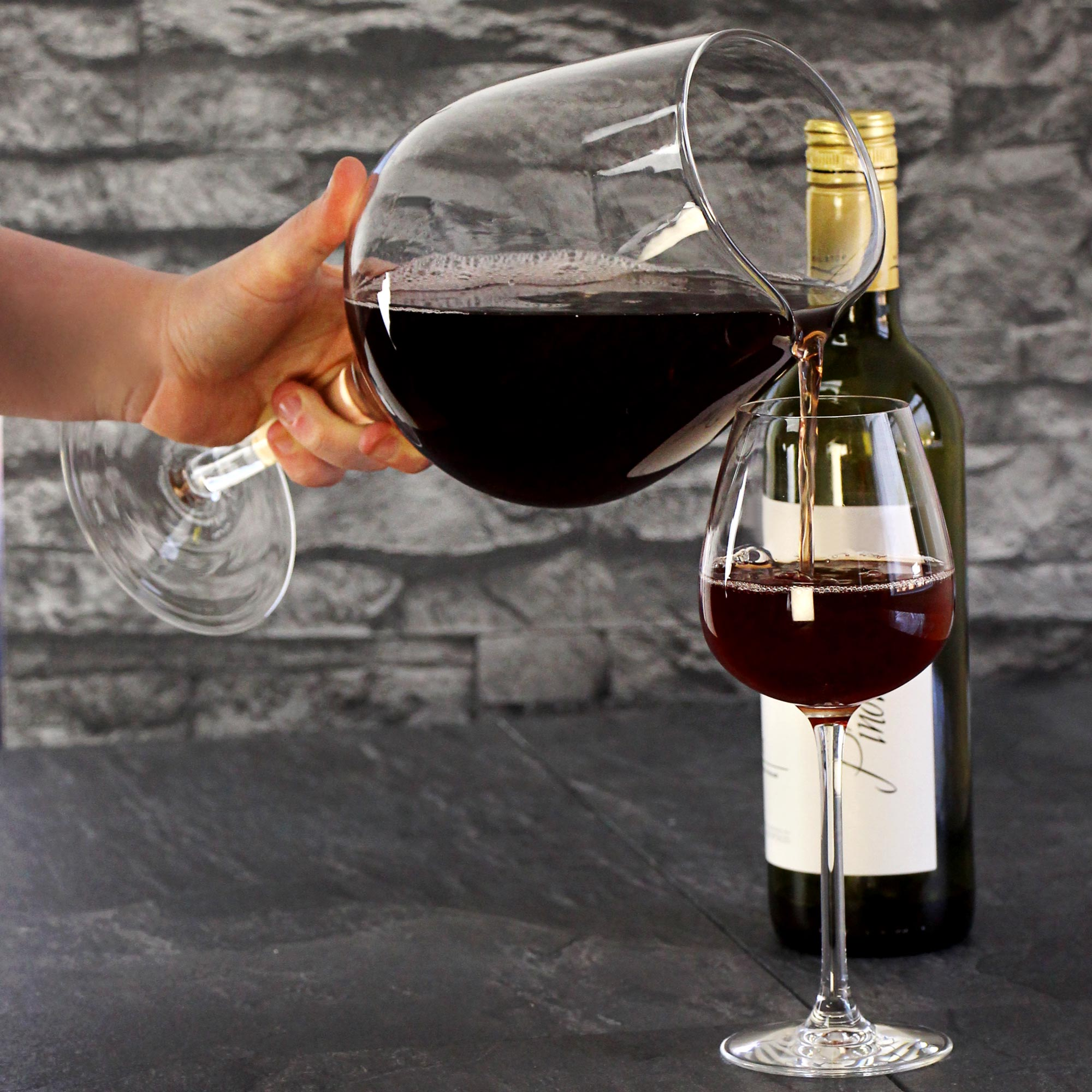 Giant Wine Glass Decanter