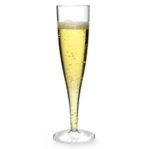 Disposable Champagne Glasses 5.6oz / 160ml
