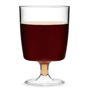 Disposable One Piece Wine Glasses 5.25oz / 150ml