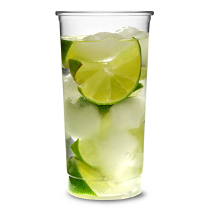 Disposable Slim Jim Highball Glasses 12.5oz / 355ml