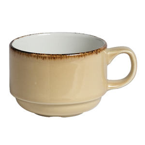 Steelite Terramesa Stacking Cup Wheat 7oz / 200ml