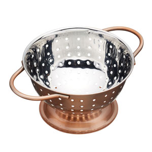 Master Class Copper Finish Mini Colander 10cm