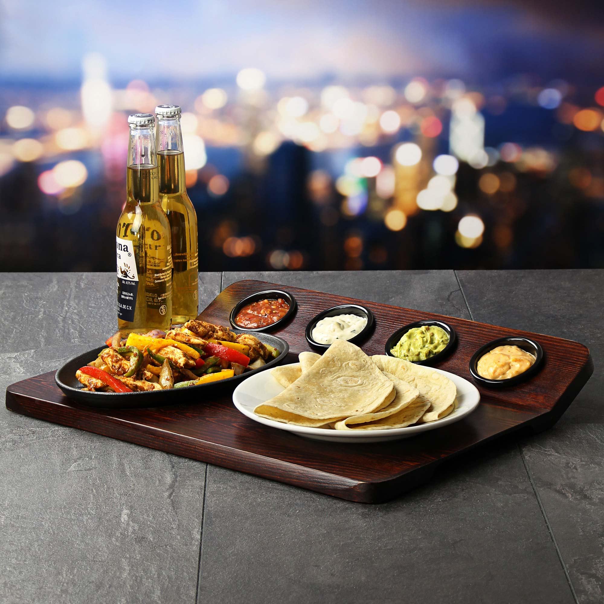 Wood Tableware Set