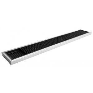 Stainless Steel Framed Rubber Bar Mat 60.5cm