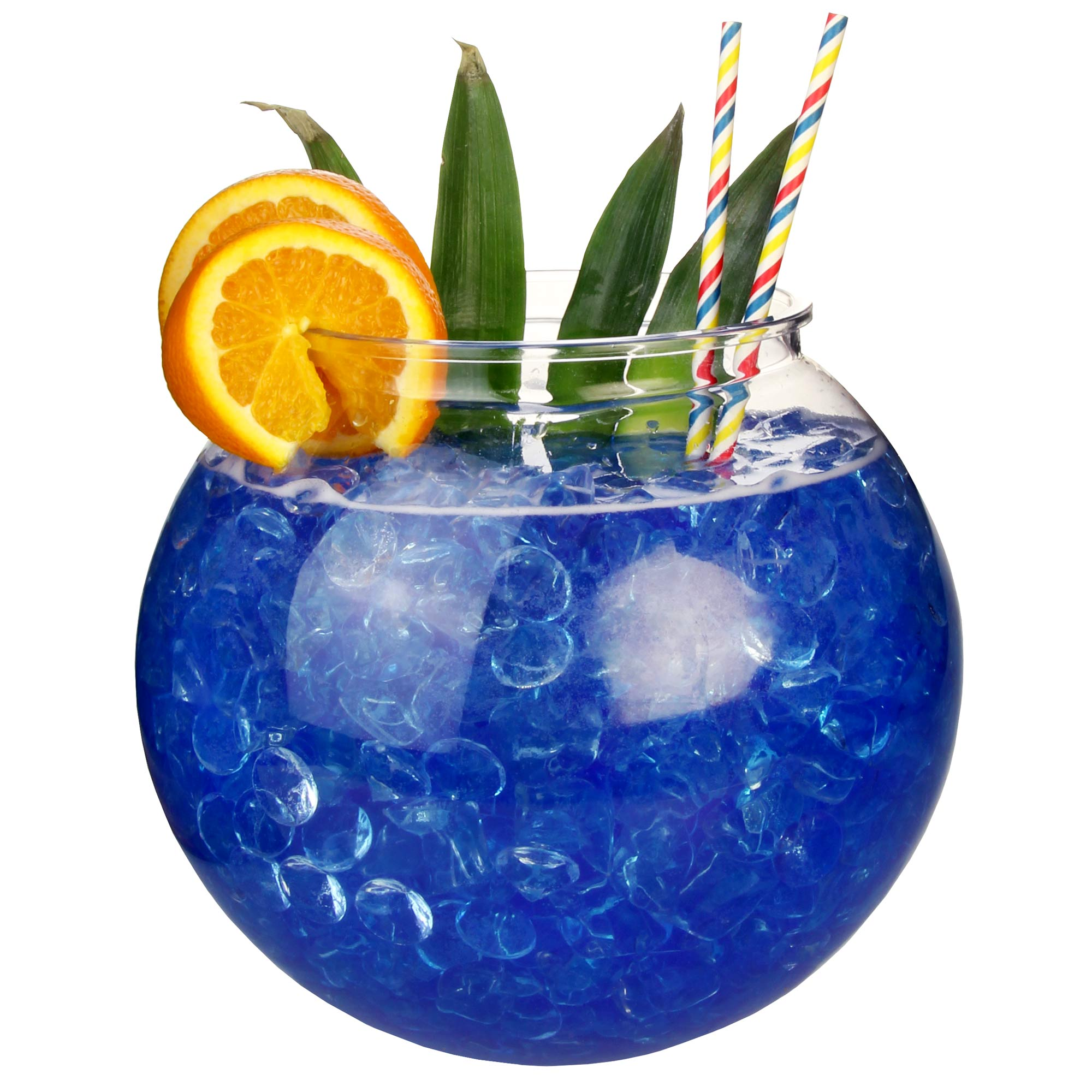 Xl 5 litre plastic cocktail fish bowl sharer at drinkstuff for Fish bowl drinks near me