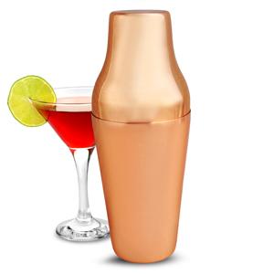 Mezclar Two Piece Copper Cocktail Shaker 21oz