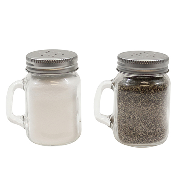 Mason Jar Salt Pepper Shaker Pots At