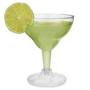 Disposable Margarita Glasses 5.5oz / 155ml