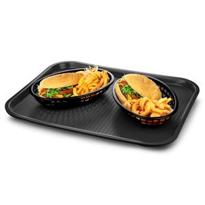 Fast Food Tray Large Black 14 x 18inch