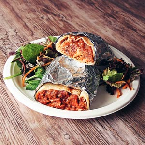 Burrito & Burger Insulated Foil Wraps 40 x 35cm
