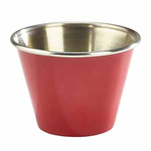 Red Stainless Steel Ramekin 12oz / 340ml