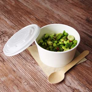 Compostable Soup Container and Lids 12oz / 340ml