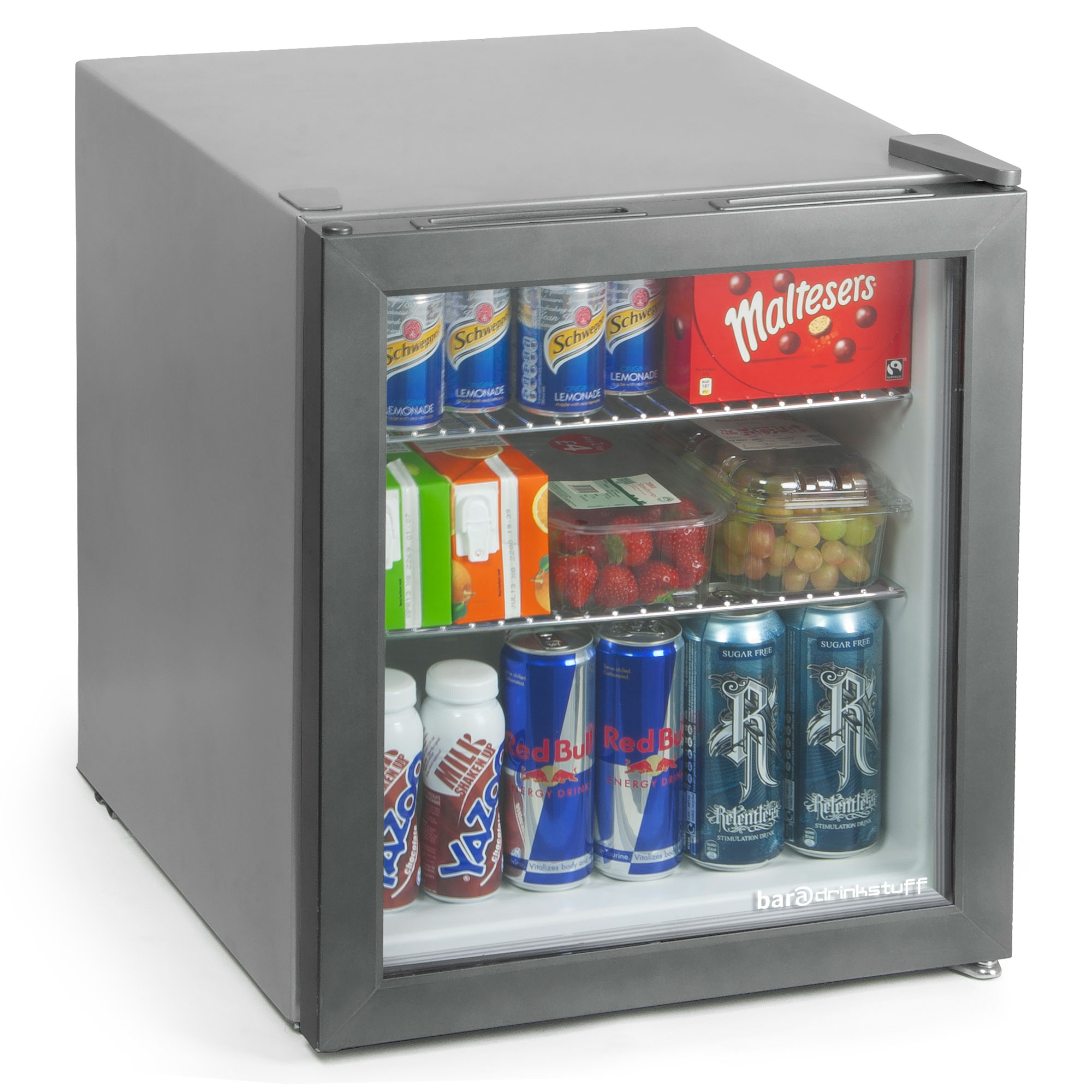 Frostbite Mini Fridge 49ltr Silver