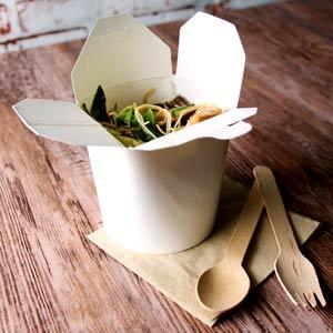 Biopac Kraft Noodle Boxes 16oz / 500ml