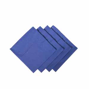 Cocktail Napkins Blue 24cm
