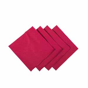 Cocktail Napkins Burgundy 24cm
