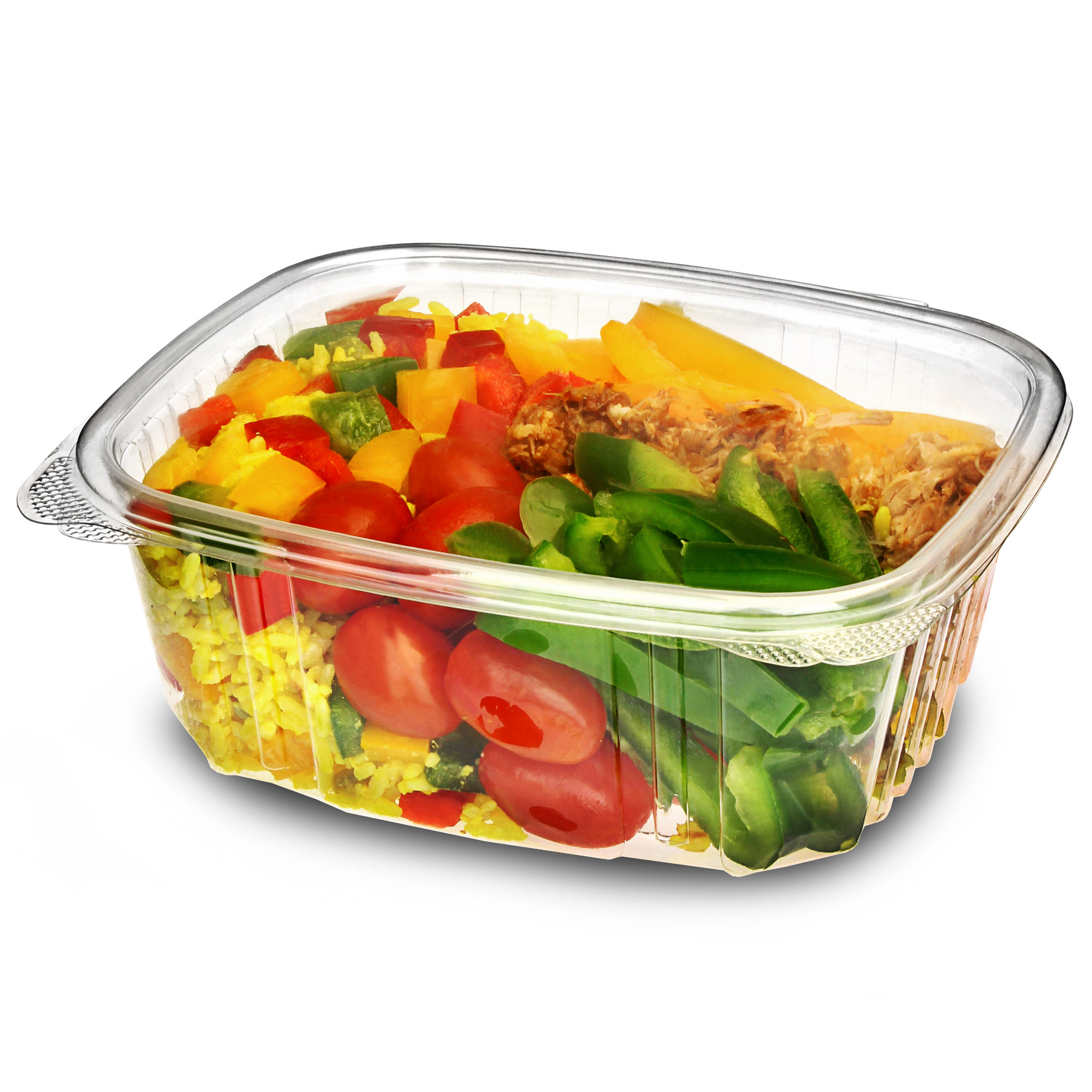 Disposable hinged salad container 32oz 900ml drinkstuff for Decor 900ml container