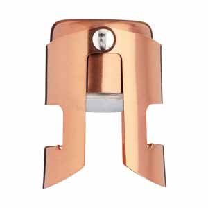 Luxe Lounge Copper Champagne Stopper