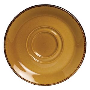 """Steelite Terramesa Soup Stand Saucer Mustard 6.5"""" / 16.5cm"""
