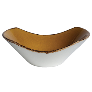 "Steelite Terramesa Scoop Bowl Mustard 6.5"" / 16.5cm"