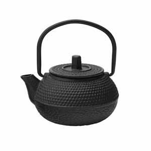 Mini Mandarin Cast Iron Teapot 2oz / 60ml