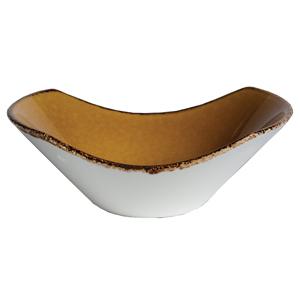 "Steelite Terramesa Scoop Bowl Mustard 4.4"" / 11.2cm"