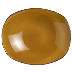 "Steelite Terramesa Zest Platter Mustard 10"" / 25.5cm"