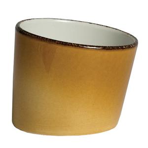 "Steelite Terramesa Tilt Pot Mustard 3"" / 7.9cm"