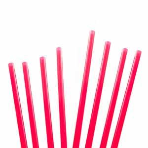 Memphis Straws 5.5inch Red