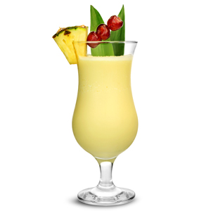 Essence Pina Colada Glasses 15.75oz / 450ml