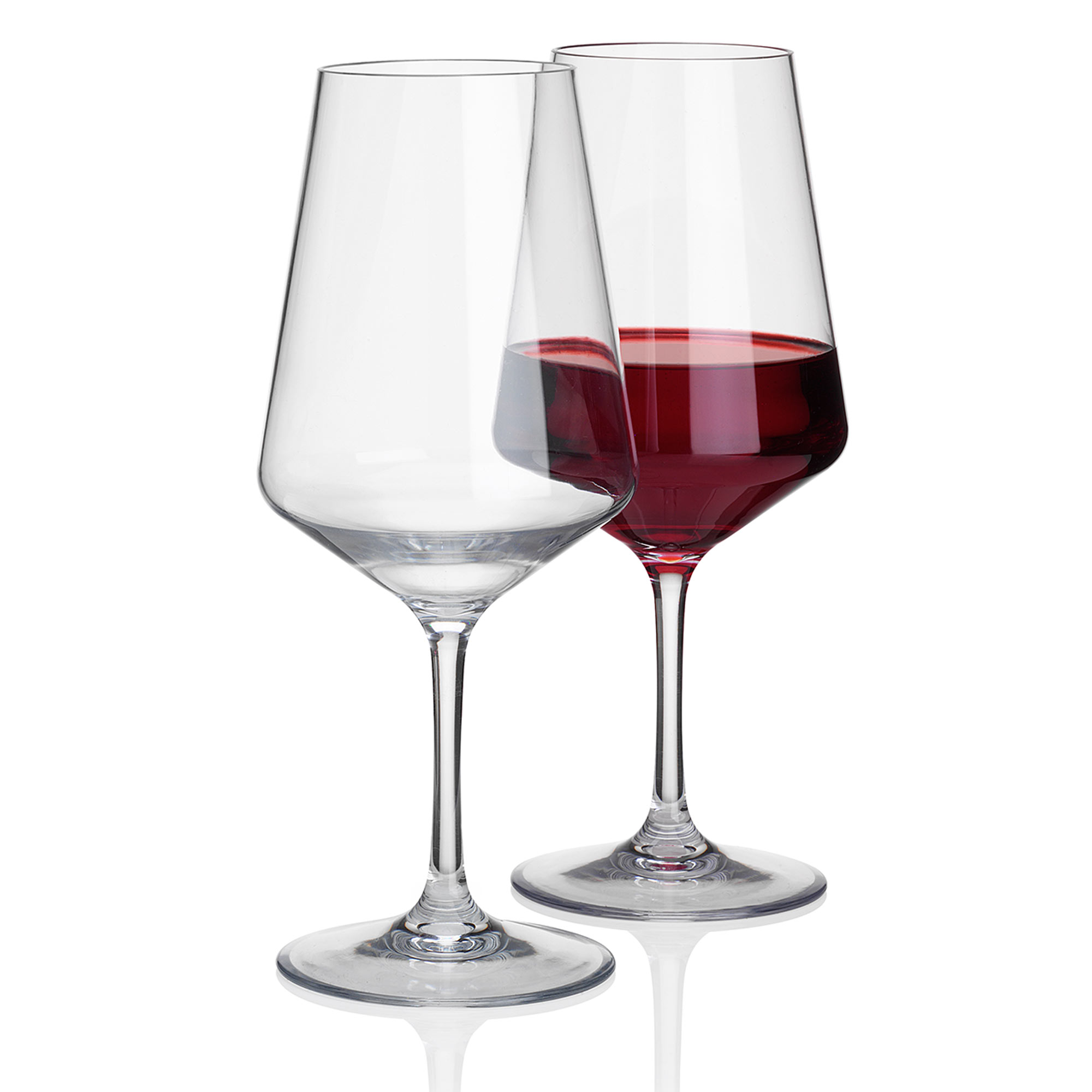 Savoy Large Plastic Wine Glasses 570ml At Drinkstuff