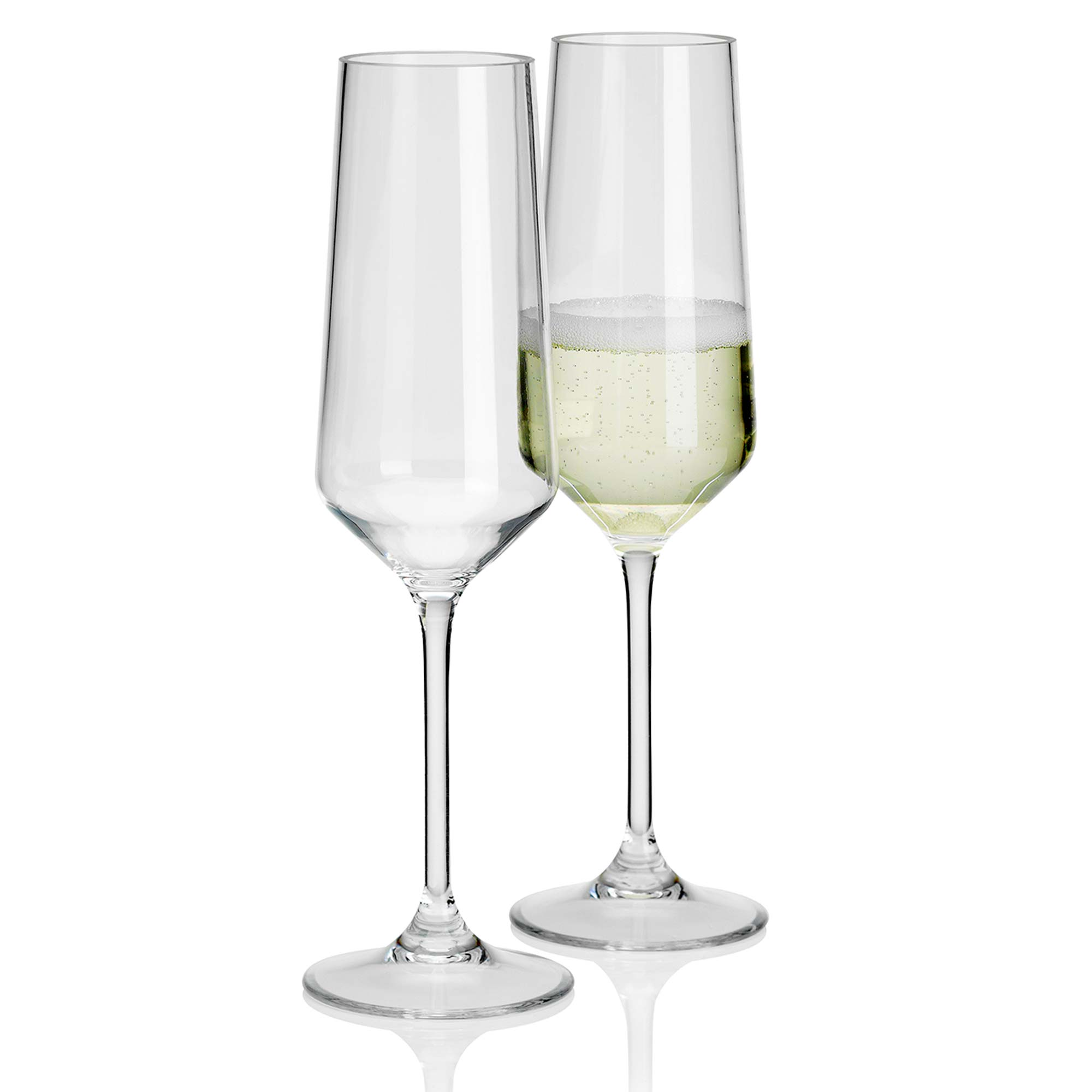 savoy plastic champagne flutes 290ml at drinkstuff. Black Bedroom Furniture Sets. Home Design Ideas