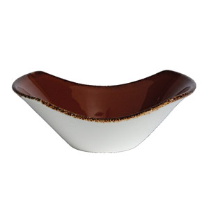 """Steelite Terramesa Scoop Bowl Mocha 6.5"""" / 16.5cm"""