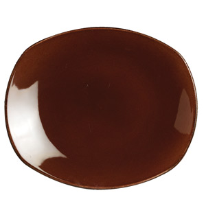 "Steelite Terramesa Spice Plate Mocha 8"" / 20.25cm"