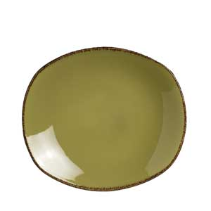 "Steelite Terramesa Spice Plate Olive 8"" / 20.25cm"