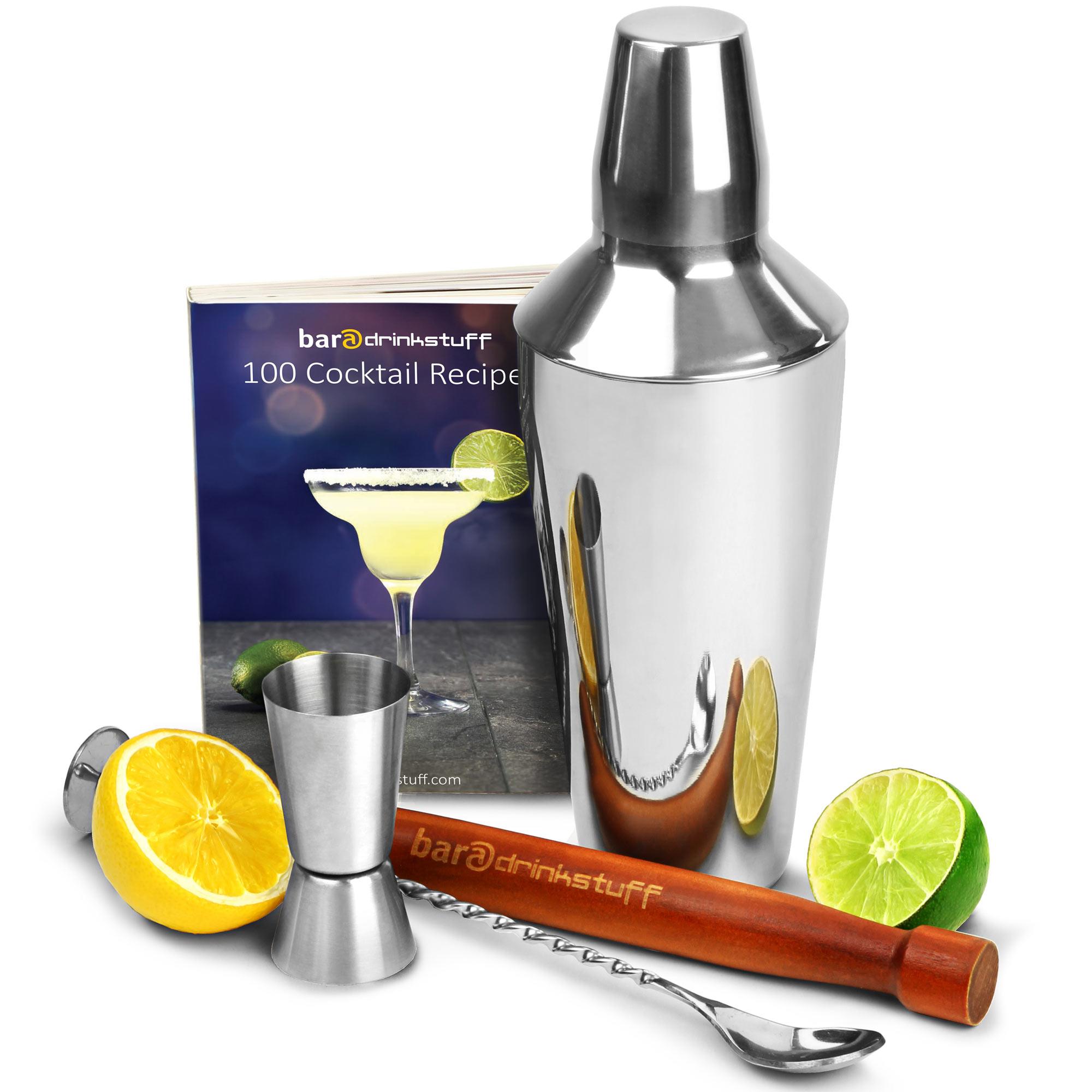 cobbler cocktail shaker set  cocktail set cocktail making set  - cobbler cocktail shaker set