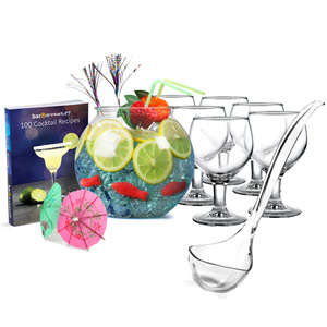 Cocktail Fish Bowl Set