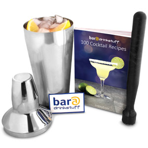 Introductory Cocktail Set with Cocktail Book