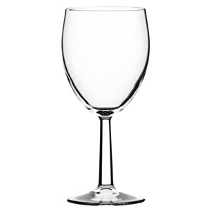 Saxon Toughened Tri Lined Wine Glasses 12oz LCE at 125, 175 & 250ml
