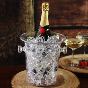 Wine & Champagne Bucket Clear