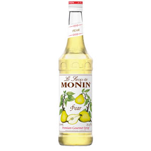 Monin Pear Syrup 70cl