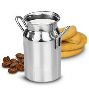 Stainless Steel Mini Milk Churn 4.75oz / 135ml