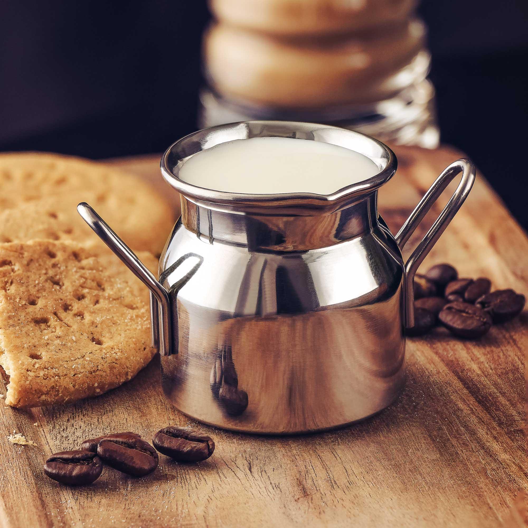 Stainless Steel Mini Milk Churn 70ml