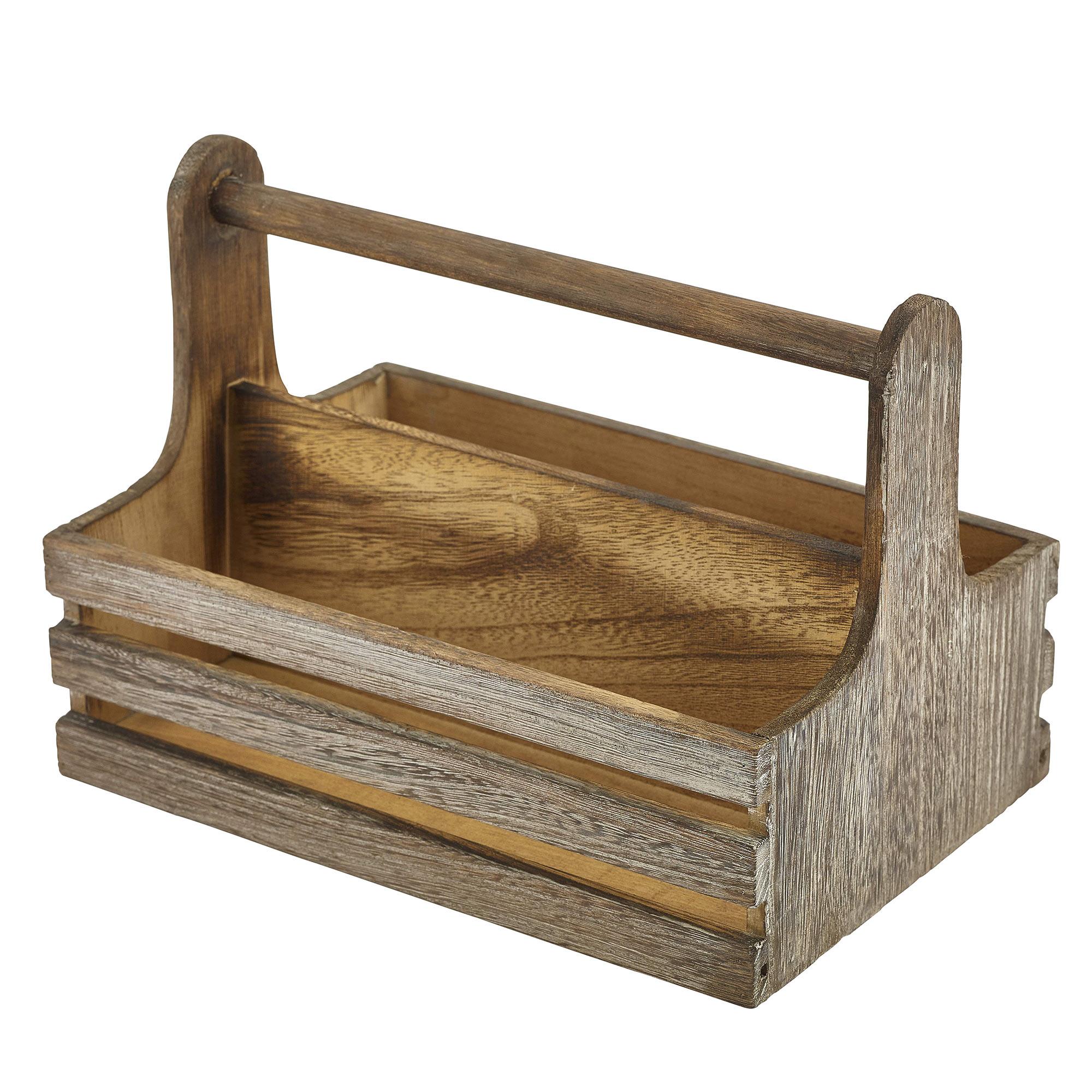 Genware Rustic Wooden Table Caddy : 128133large from www.drinkstuff.com size 2000 x 2000 jpeg 504kB